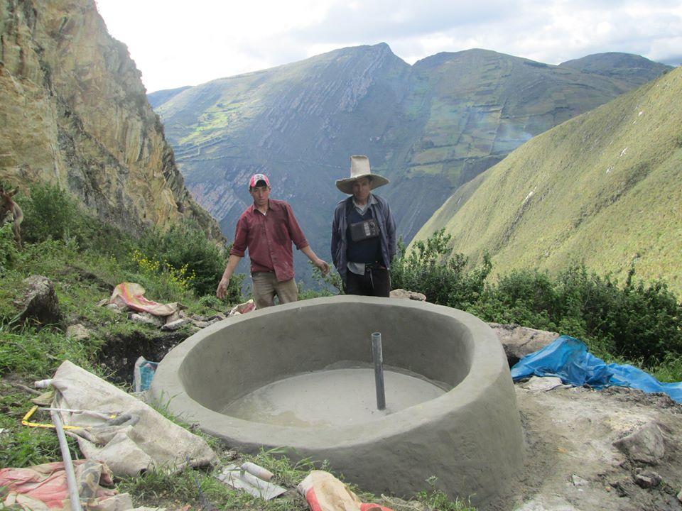 Wasserspeicher für Mensch und Tier